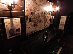 Térkép Hasfelmetsző Jack szabadulószobában