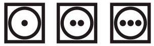 szárító szimbólum