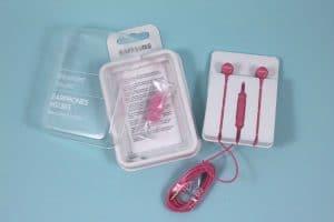 Samsung fejhallgató csomagolás