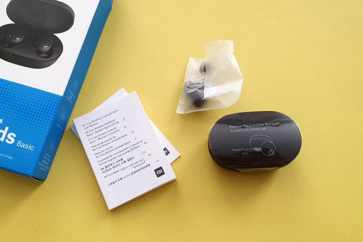 Xiaomi Mi True Wireless Earbuds Basic csomagolás